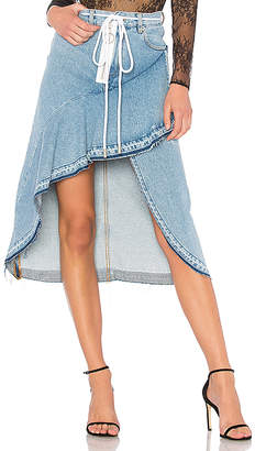 Off-White Levi's Denim Skirt.