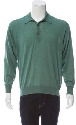 Agnona Wool Polo Sweater w/ Tags