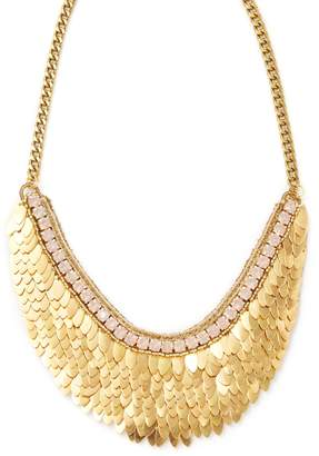 Deepa Gurnani Women's Feather & Crystal Statement Necklace