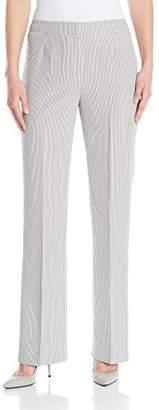 Kasper Women's Pinstripe Seersucker Trouser