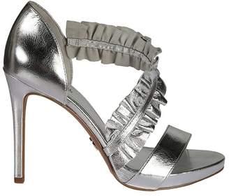 Michael Kors Ruffle Detail Sandals