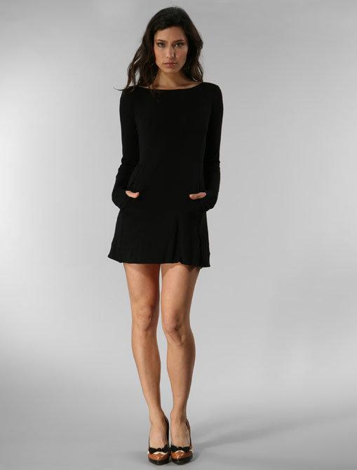 rag & bone Skinny Knit Dress with Pockets