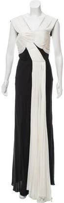 Vionnet Colorblock Evening Dress