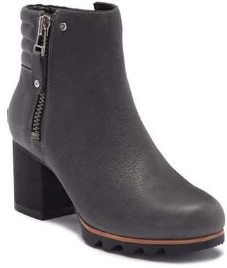 Sorel Danica Waterproof Leather Bootie