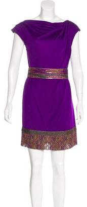 Missoni Embellished Mini Shift Dress