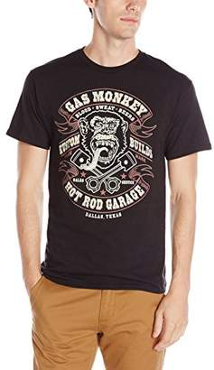 Gas Monkey Men's Blood Sweat and Beers Short Sleeve T-Shirt