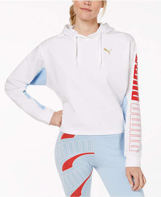 Puma Modern Sport dryCELL Cropped French Terry Hoodie
