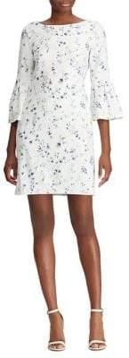 Lauren Ralph Lauren Slim Fit Floral Belle Sleeve Dress