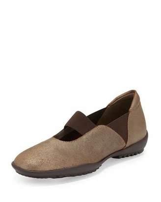 Sesto Meucci Adrian Casual Leather Flat, Bronze $185 thestylecure.com