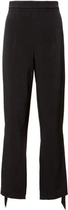 Cushnie et Ochs Salma Ribbon Detail Cropped Pants