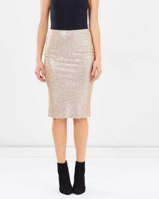 Dorothy Perkins Sequin Pencil Skirt