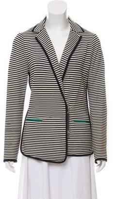 Veronica Beard Striped Knit Blazer