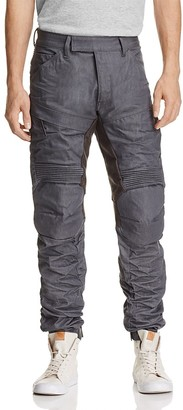 G-STAR RAW 5620 Motion 3D New Tapered Fit Jeans in 3D Raw $300 thestylecure.com