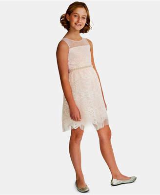Rare Editions Big Girls Embellished Lace Dress
