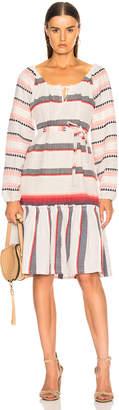 Lemlem Naomi Boho Dress in Stone | FWRD