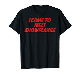 I came to melt snowflakes t-shirt