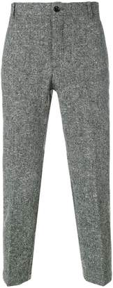 Thom Browne engineered stripe-patch chino trouser