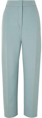 Joseph Haim Wool-blend Canvas Tapered Pants - Blue
