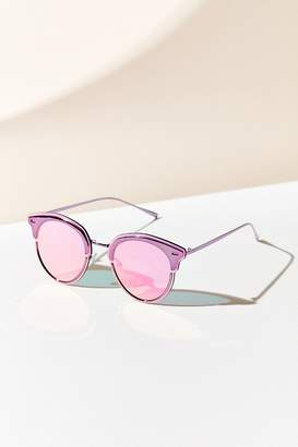 Urban Outfitters Cosmic Half-Frame Sunglasses