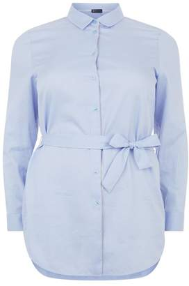 Krizia Per Te By Embellished Belted Shirt