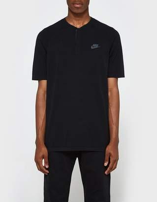 Nike Tech Knit Polo in Black