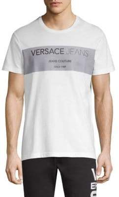 Versace Cotton Couture Logo T-Shirt