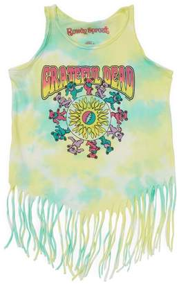 Rowdy Sprout Fringe Rock Graphic Tank - Size 12-18 month