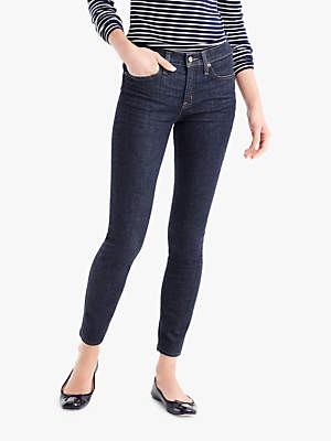 J.Crew High-Rise Lookout Jeans, Classic Rinse