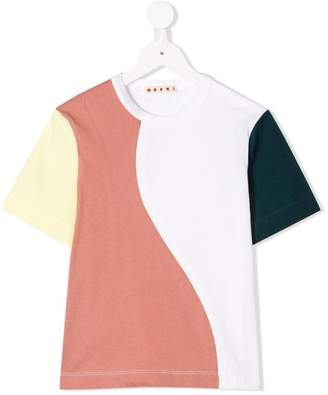 Marni color-block T-shirt