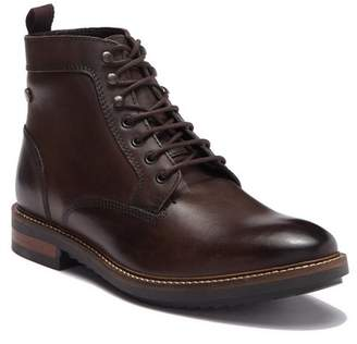 Base London Lewis Lace-Up Leather Boot