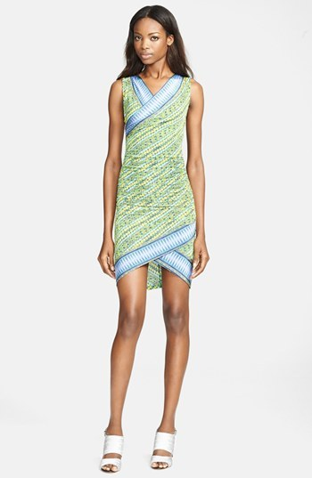 Tracy Reese Surplice Jersey Dress