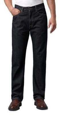 Levi's 505 Regular-Fit Tumbled Rigid Jeans