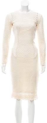 By Malene Birger Crochet Midi Dress