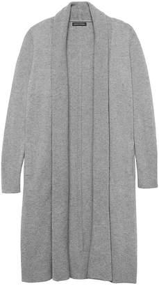 Banana Republic Italian Superloft Duster Cardigan Sweater