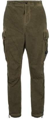 C.p. Company - Lens Cotton Blend Cargo Pants - Mens - Green