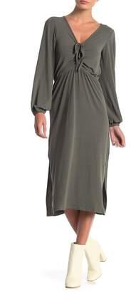 Anama Long Sleeve Knit Dress