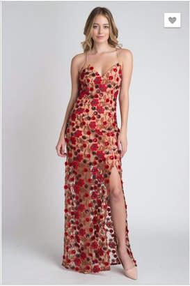 Minuet Floral Maxi Dress