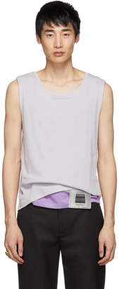 Off-White Keenkee and Purple Layered Tank Top