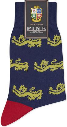 Thomas Pink Lions Grabiniok cotton socks $22.50 thestylecure.com