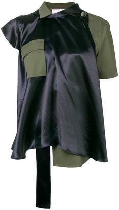 Sacai layered blouse