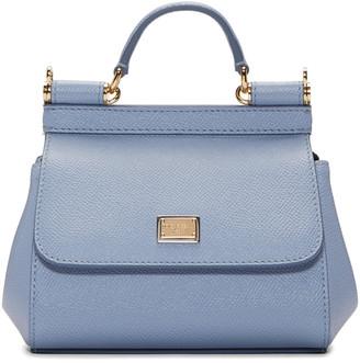 Dolce & Gabbana Blue Micro Miss Sicily Bag $995 thestylecure.com