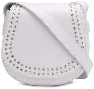 McQ studded mini satchel bag