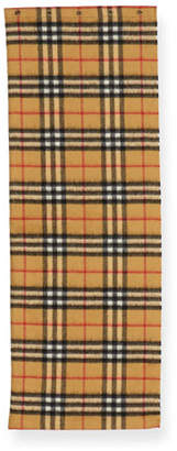 Burberry Kids' Vintage Check Cashmere Snood Scarf
