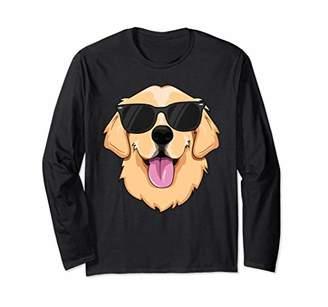 Golden Retriever Long Sleeve Shirt Kids Boys Girls Pet