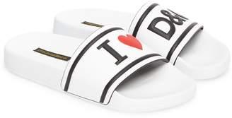 Dolce & Gabbana I Love Slide Sandal