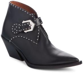 Givenchy Elegant Studs Pointy Toe Boot