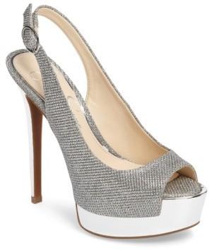 Women's Jessica Simpson 'Kabale' Slingback Platform Sandal $97.95 thestylecure.com