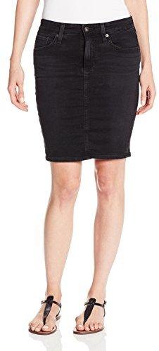 AG Adriano Goldschmied Women's Erin Denim Pencil Skirt In Levanto