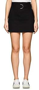 A.L.C. Women's Bryc Linen-Blend Miniskirt-Black