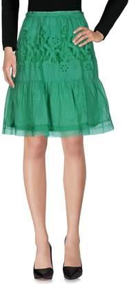 Ermanno Scervino Knee length skirts